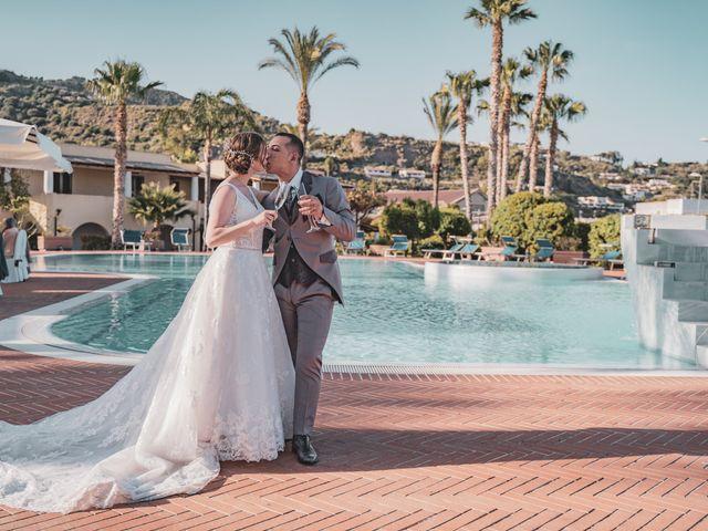 Il matrimonio di Francesco e Maria a Lipari, Messina 1