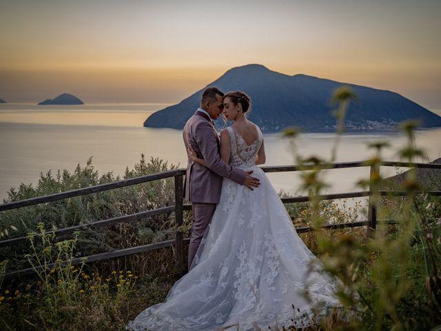Il matrimonio di Francesco e Maria a Lipari, Messina 20