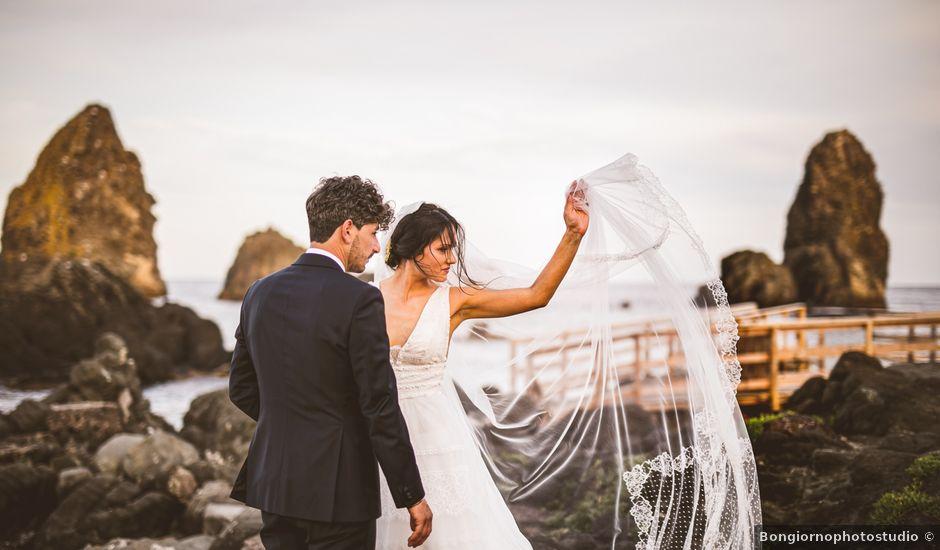 Il matrimonio di Rosario e Floriana a Acireale, Catania