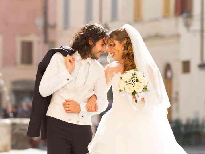Le nozze di Antonella e Patrizio