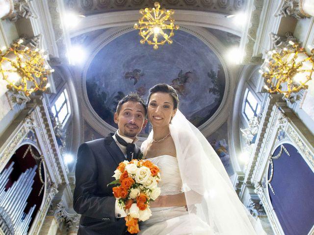 le nozze di Monica e Renato