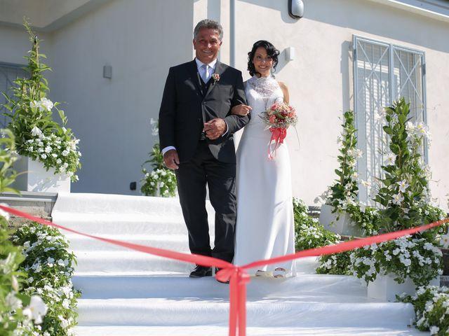 Il matrimonio di Pau e Giovanna a Maiori, Salerno 17