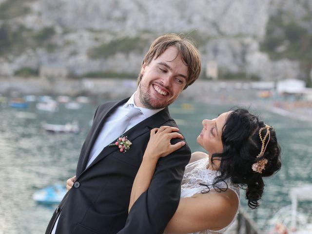 Il matrimonio di Pau e Giovanna a Maiori, Salerno 45