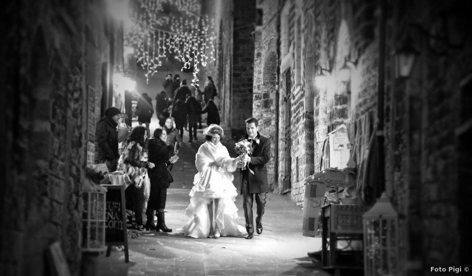 Il matrimonio di Federico e Valentina a Gubbio, Perugia