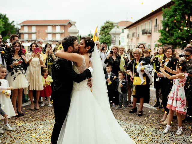 Il matrimonio di Guido e Elisa a Vercelli, Vercelli 16
