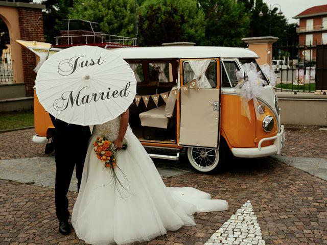 Il matrimonio di Guido e Elisa a Vercelli, Vercelli 17