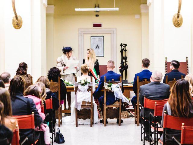 Il matrimonio di David e Martina a Udine, Udine 238