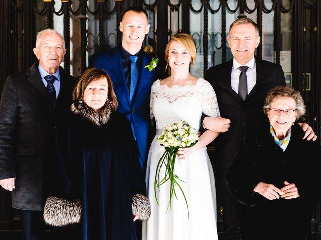 Il matrimonio di David e Martina a Udine, Udine 342