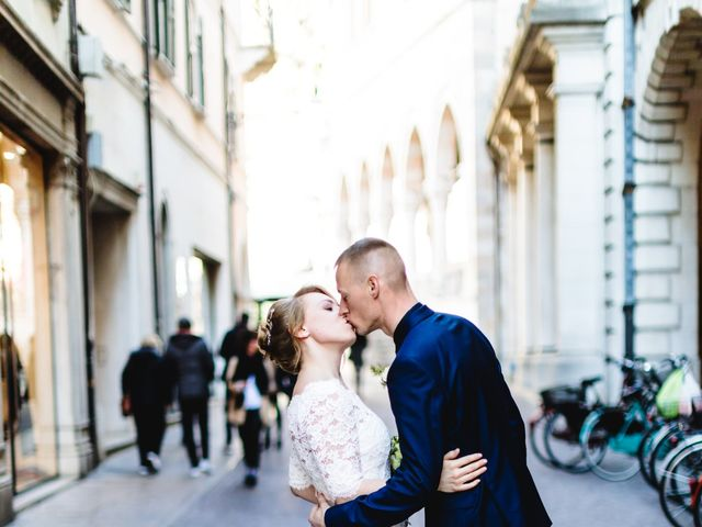Il matrimonio di David e Martina a Udine, Udine 399