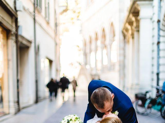 Il matrimonio di David e Martina a Udine, Udine 405