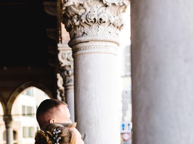 Il matrimonio di David e Martina a Udine, Udine 420