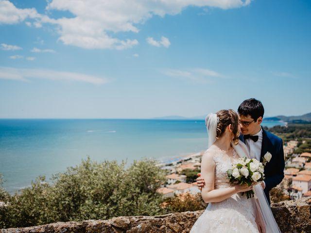 Il matrimonio di Roberto e Elena a Castiglione della Pescaia, Grosseto 33