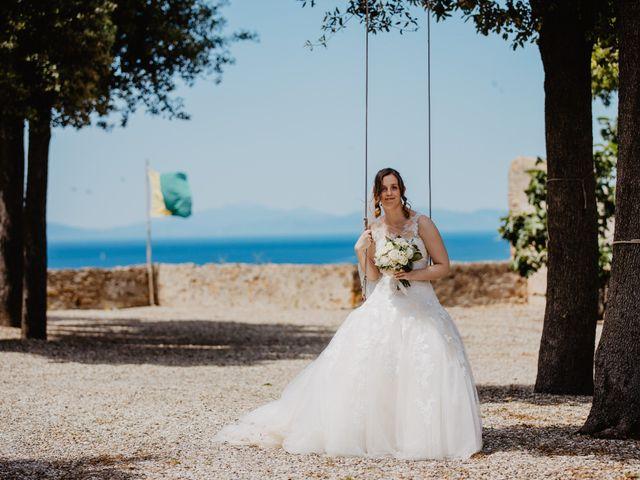 Il matrimonio di Roberto e Elena a Castiglione della Pescaia, Grosseto 34
