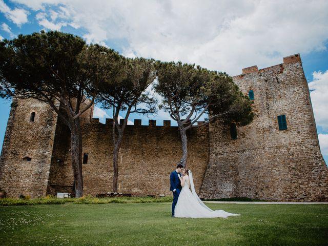 Il matrimonio di Roberto e Elena a Castiglione della Pescaia, Grosseto 35