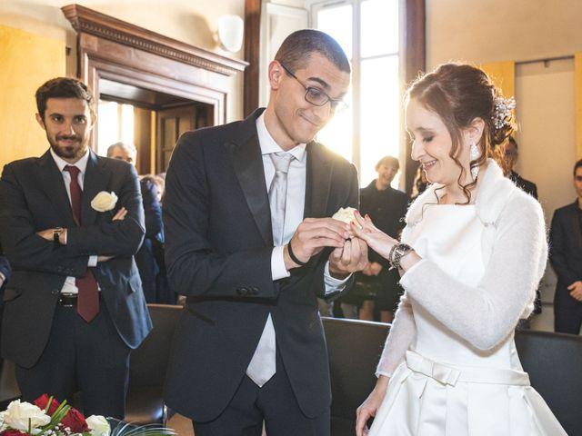 Il matrimonio di Andrea e Tiziana a Cermenate, Como 36