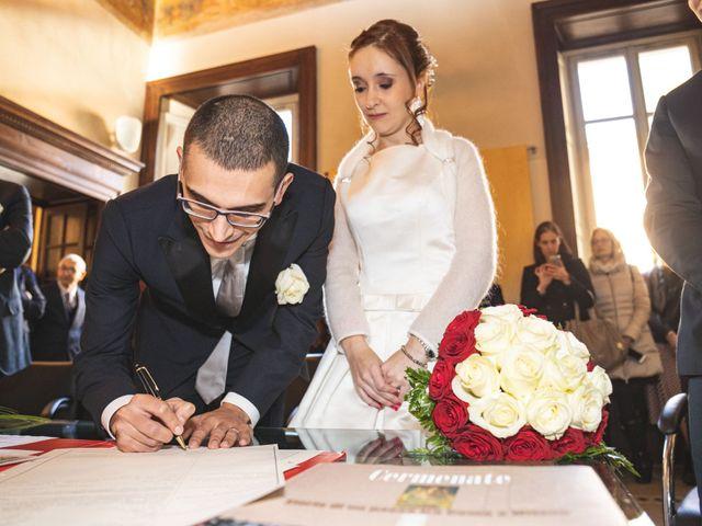 Il matrimonio di Andrea e Tiziana a Cermenate, Como 38
