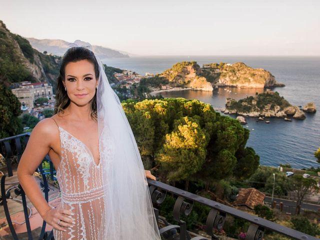 Il matrimonio di Fernando e Juliana a Taormina, Messina 11