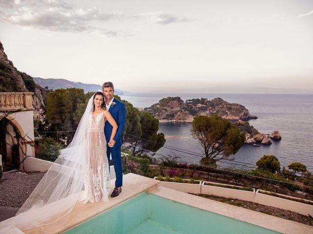 Il matrimonio di Fernando e Juliana a Taormina, Messina 28