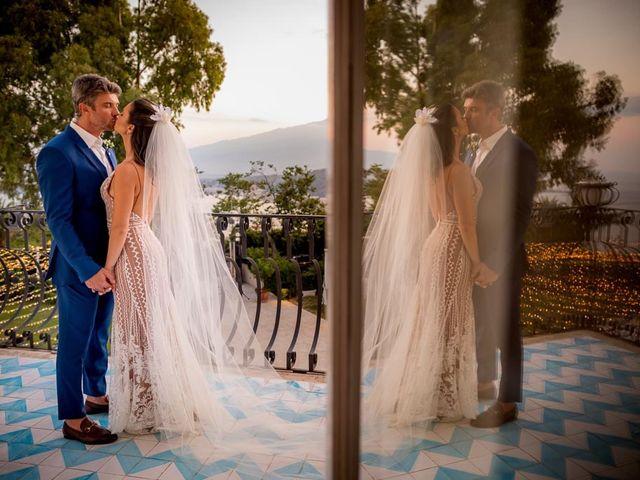 Il matrimonio di Fernando e Juliana a Taormina, Messina 30