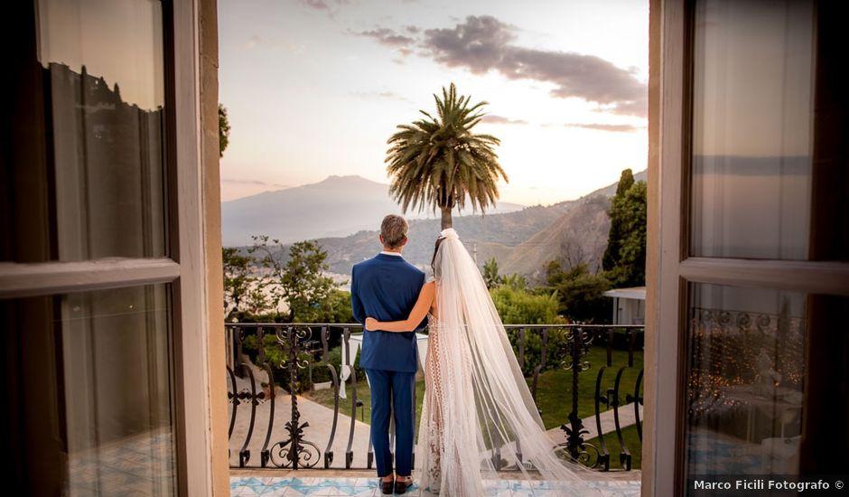 Il matrimonio di Fernando e Juliana a Taormina, Messina