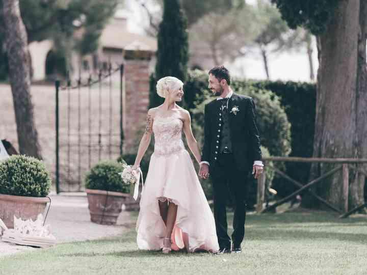 le nozze di Loana e Roberto