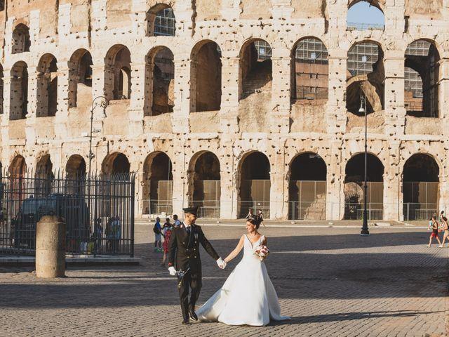 Il matrimonio di Marika e Ovidio a Roma, Roma 33