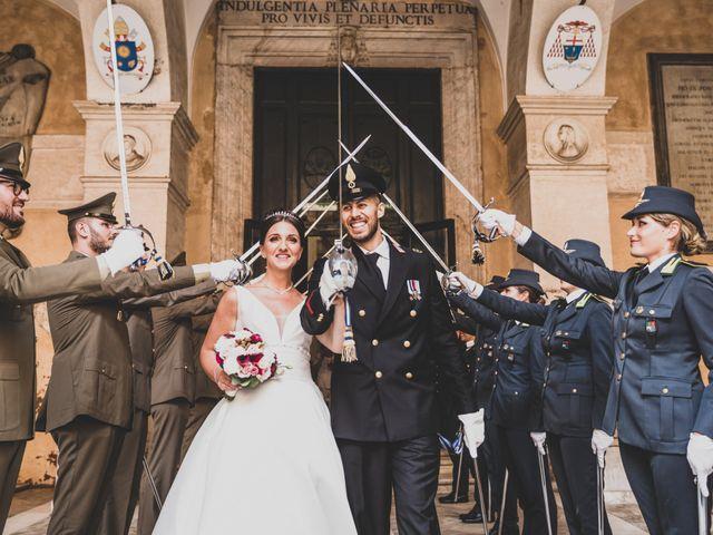 Il matrimonio di Marika e Ovidio a Roma, Roma 1