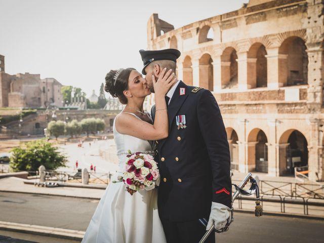 Il matrimonio di Marika e Ovidio a Roma, Roma 60