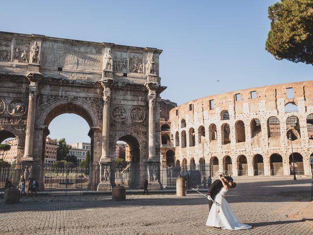 Il matrimonio di Marika e Ovidio a Roma, Roma 62