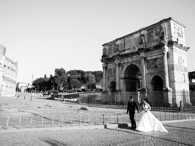 Il matrimonio di Marika e Ovidio a Roma, Roma 63