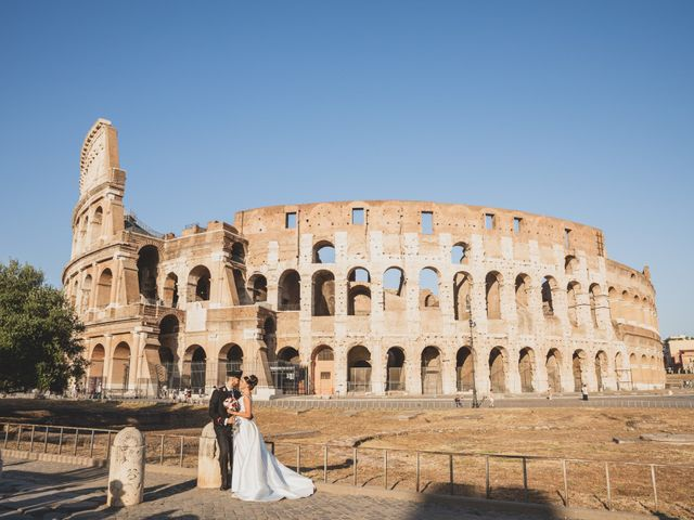 Il matrimonio di Marika e Ovidio a Roma, Roma 64