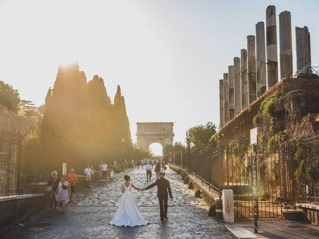 Il matrimonio di Marika e Ovidio a Roma, Roma 65