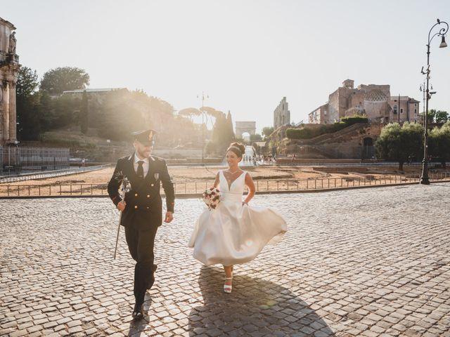Il matrimonio di Marika e Ovidio a Roma, Roma 68