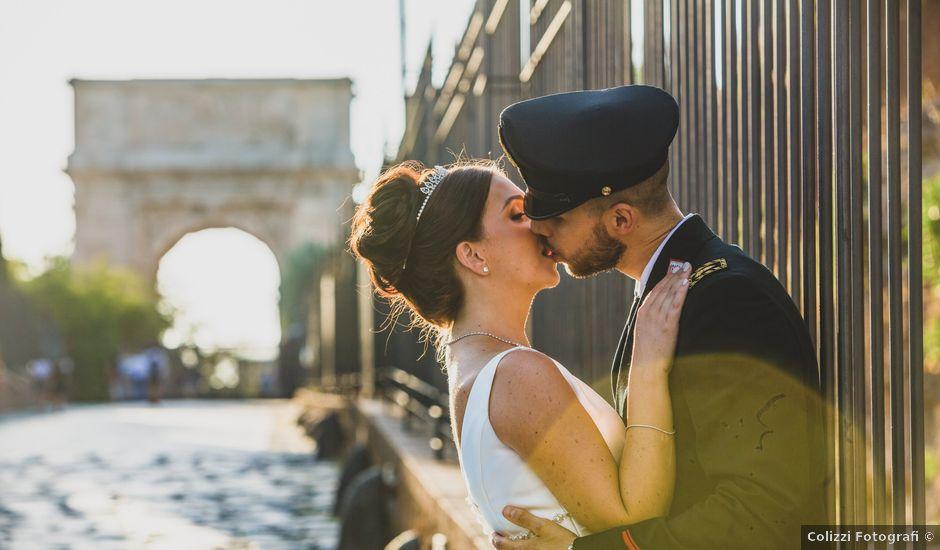 Il matrimonio di Marika e Ovidio a Roma, Roma