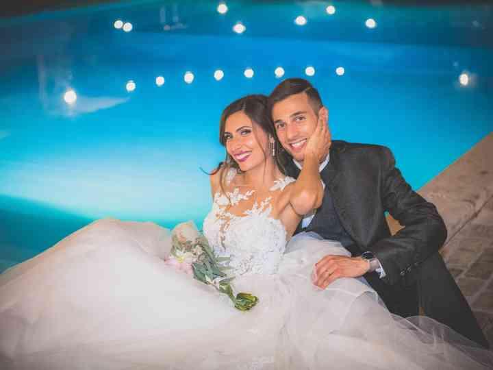 Le nozze di Sabrina e Damiano