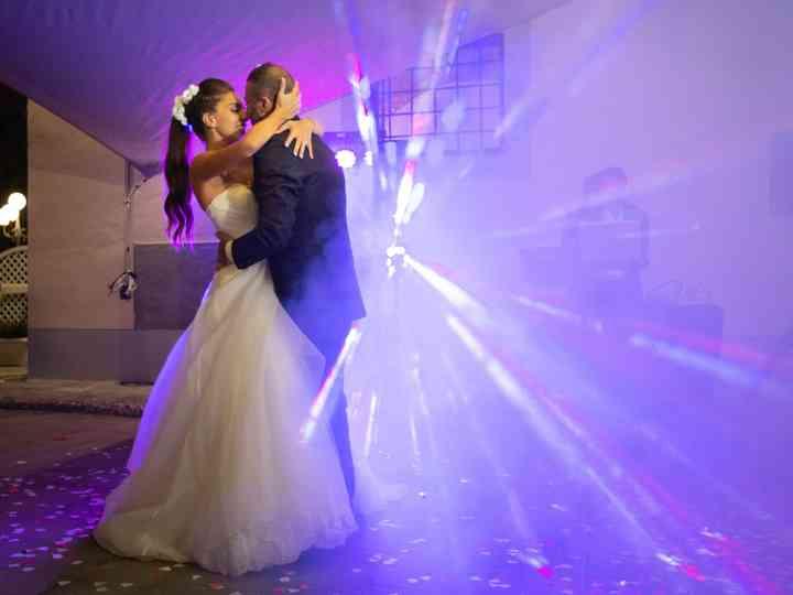 Le nozze di Alessandra e Yuri