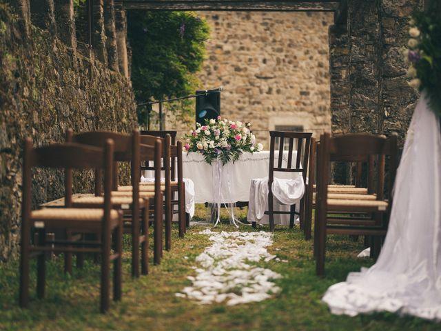 Il matrimonio di Alessandro e Serena a Bolano, La Spezia 1