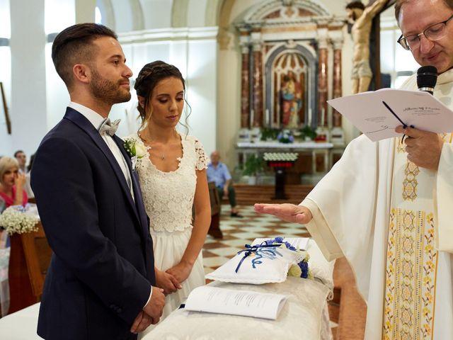 Il matrimonio di Alberto e Marta a Trebaseleghe, Padova 41