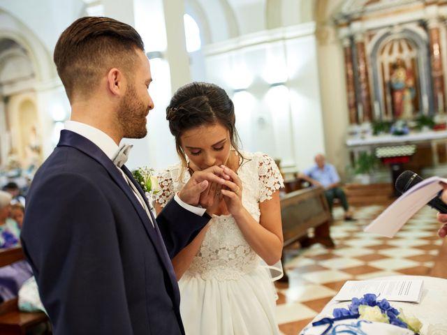 Il matrimonio di Alberto e Marta a Trebaseleghe, Padova 43