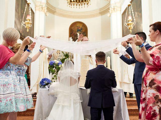 Il matrimonio di Alberto e Marta a Trebaseleghe, Padova 45