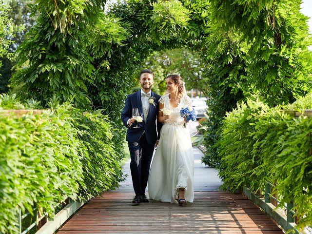 Il matrimonio di Alberto e Marta a Trebaseleghe, Padova 88