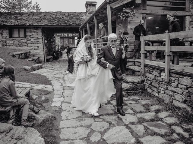 Il matrimonio di Gianluca e Elisa a Alagna Valsesia, Vercelli 22