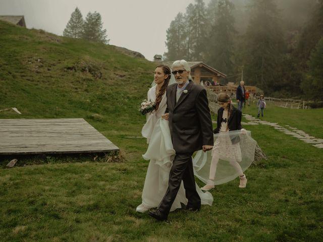 Il matrimonio di Gianluca e Elisa a Alagna Valsesia, Vercelli 23
