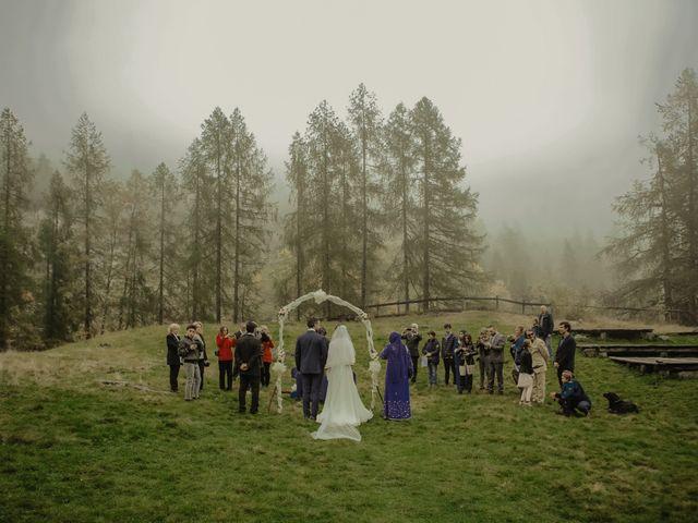 Il matrimonio di Gianluca e Elisa a Alagna Valsesia, Vercelli 24