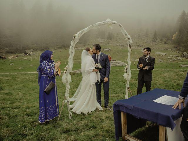 Il matrimonio di Gianluca e Elisa a Alagna Valsesia, Vercelli 25