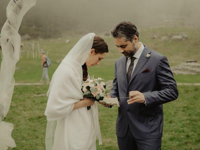 Il matrimonio di Gianluca e Elisa a Alagna Valsesia, Vercelli 26