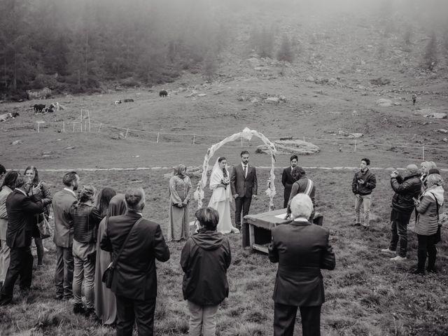 Il matrimonio di Gianluca e Elisa a Alagna Valsesia, Vercelli 27