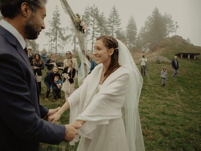 Il matrimonio di Gianluca e Elisa a Alagna Valsesia, Vercelli 30
