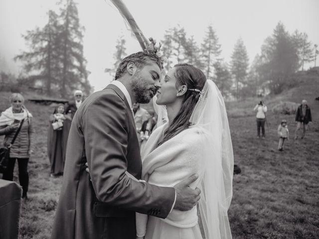Il matrimonio di Gianluca e Elisa a Alagna Valsesia, Vercelli 32