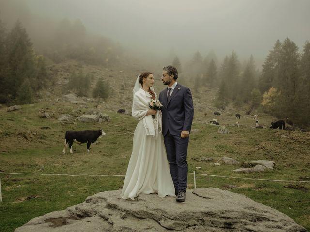 Il matrimonio di Gianluca e Elisa a Alagna Valsesia, Vercelli 33